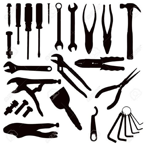tool kit clipart black and white tools clipart black and white 4 clipart station