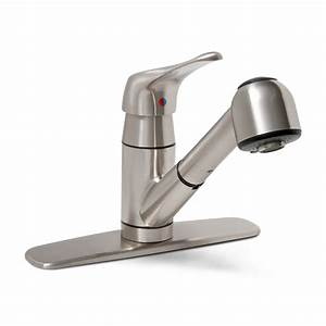 Shop Premier Faucet Sonoma Brushed Nickel 1-Handle Pull