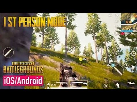 pubg mobile  person mode gameplay  release date