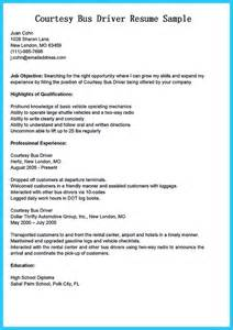 stunning driver resume to gain the serious driver