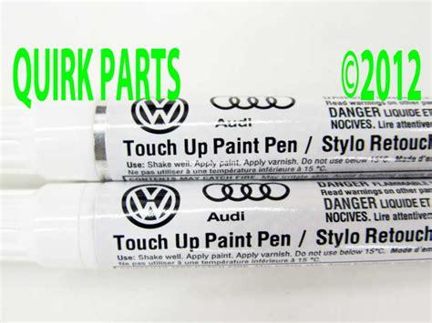 genuine vw volkswagen touch up paint pen ld7x platinum