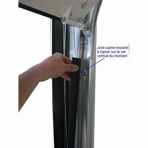 Joint Pour Porte : joint cache ressorts pour montant de porte sectionnelle ~ Nature-et-papiers.com Idées de Décoration