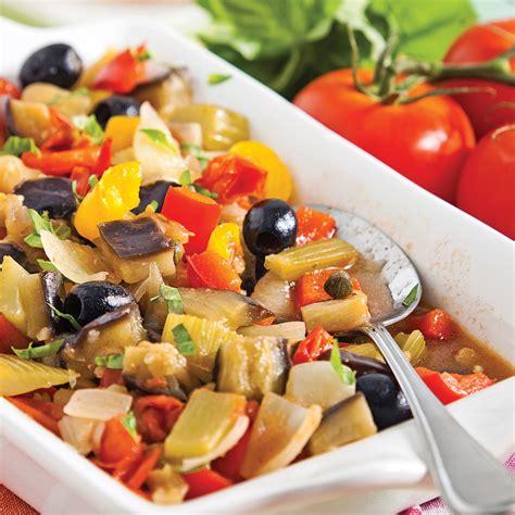 cuisine sicilienne recette caponata à la sicilienne recettes cuisine et nutrition