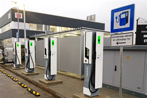 Electric Car Charging Stations by Europe Takes The Lead In Fast Electric Car Charging