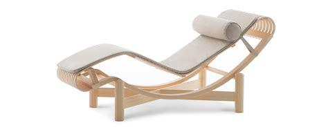 bureau perriand 522 chaise longue outdoor by perriand