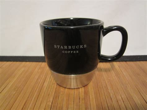 Each year, different designs are available, celebrating christmas, hanukkah, and other winter holidays. 2006 Urban Starbucks Stainless Steel Black Coffee Tea Mug Cup 10 oz - Starbucks