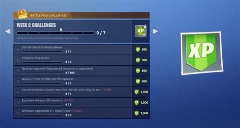 fortnite week 2 challenges fortnite week 2 challenges here s what you need to do