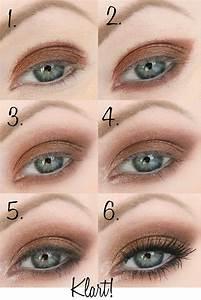 Eyeliner Für Anfänger : sminkning bl gon steg f r steg haare beauty makeup eye makeup und makeup for green eyes ~ Frokenaadalensverden.com Haus und Dekorationen