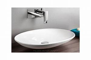 Awesome vasque a poser design photos awesome interior for Salle de bain design avec meuble salle de bain 60 cm castorama