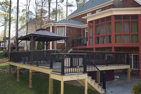 denver nc deck resurfacing build project lake norman