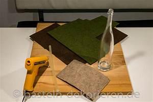 Herbstdeko Selbst Gemacht : herbstdekoration aus flaschen bastelanleitung basteln und dekorieren ~ Orissabook.com Haus und Dekorationen