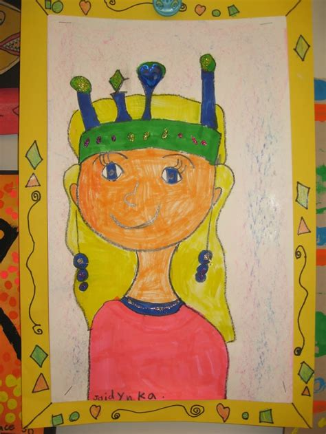 kindergarten kingsqueens  portraits jamestown