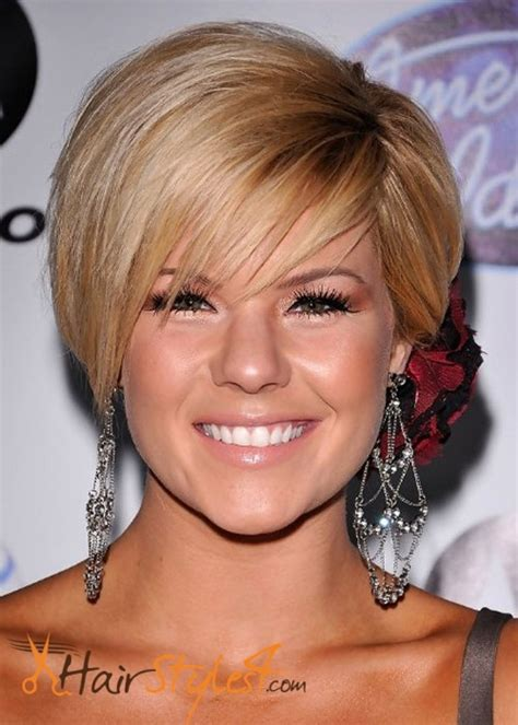 what are the short hairstyles for round faces 2016