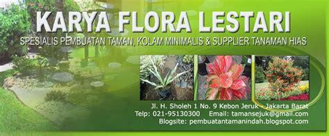 pembuatan taman contoh tanaman hias