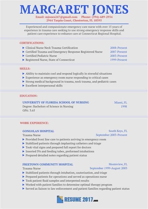 flawless nurse resume sample   show