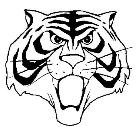 disegni da colorare uomo tigre sta disegno di maschera uomo tigre da colorare