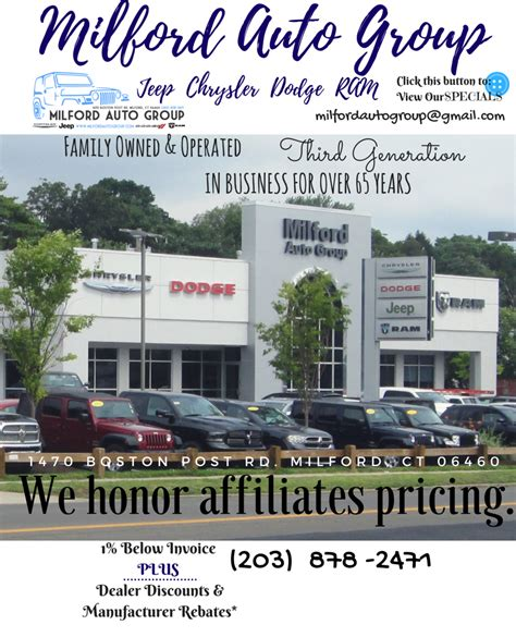Milford Chrysler Jeep Dodge by Milford Chrysler Jeep Dodge Ram Milford Ct Read