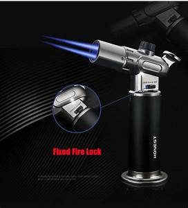 2020 Honest Torch Lighter Double    Single Flame Adjustment