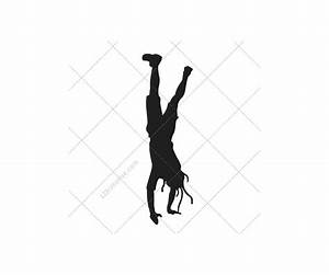 Breakdance, Silhouettes, Vector, Pack