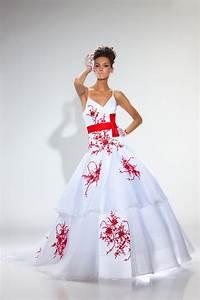 je suis peut etre vieux jeu With robe de mariée rouge avec alliance or blanc