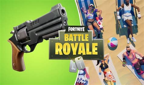 fortnite  patch notes update revolver  days