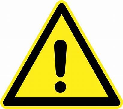 Hazard Clip Warning Clipart Safety Symbols Symbol