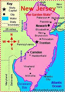 New Jersey: Facts, Map and State Symbols ...