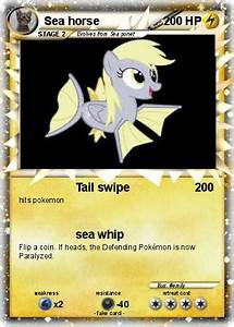Pokémon Sea horse 8 8 - Tail swipe - My Pokemon Card