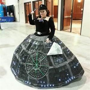 Rotund Sci-Fi Dresses : Death Star Gown