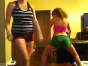 White Girl Twerk