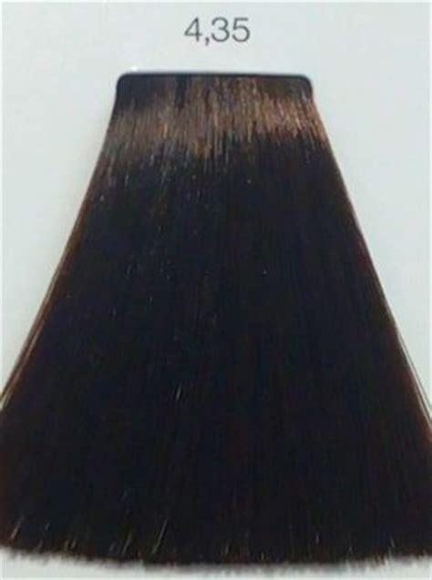 loreal inoa  golden mahogany brown hair colar