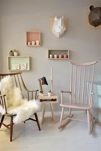 Chaise A Bascule Chambre Bebe : chambre b b et fauteuil bascule lire ~ Nature-et-papiers.com Idées de Décoration