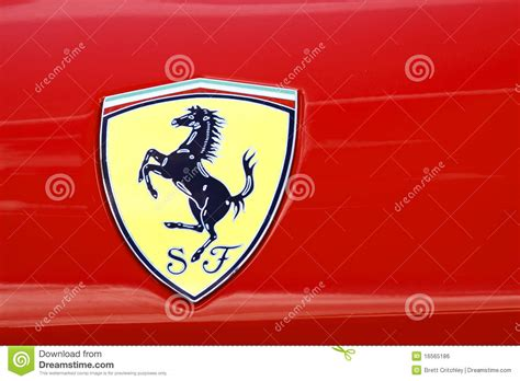 Png&svg download, logo, icons, clipart. Ferrari Badge editorial photo. Image of yellow, cavallino - 16565186
