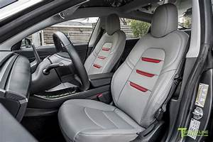 Tesla Model 3 Seat Upgrade Interior Kit in Perforated Insignia Design – T Sportline - Tesla ...