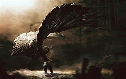 Fallen Angel Fantasy Background Wallpapers Angels Paintings