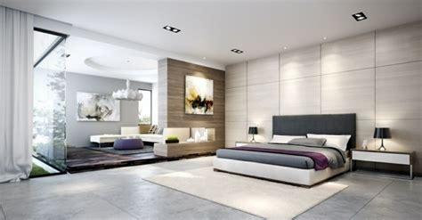chambre grand format carrelage gris mural et de sol 55 idées intérieur et