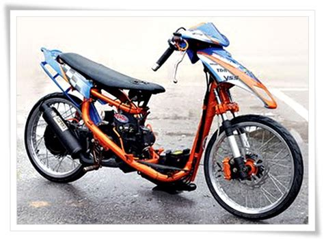 Modif Motor Matic by Foto Motor Matic Modifikasi Otomotif Carapedia