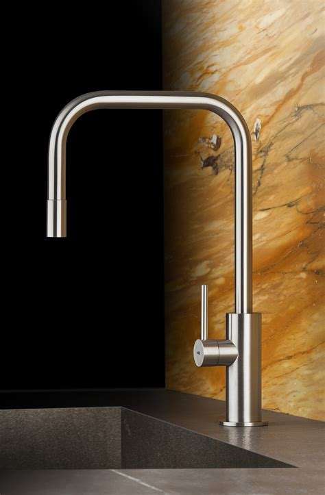 exquisite kitchen faucets merge italian design