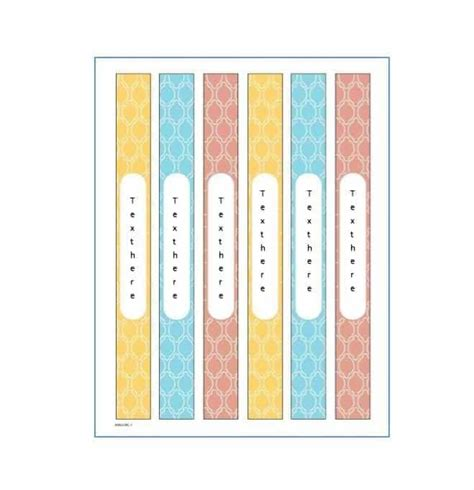 File Side Label Template Templates Data Best 25 Binder Templates Ideas On Writing
