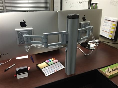 bretford mobilepro desk mount combo cl mac setups the vp of projects office