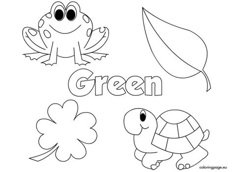 color green color verde activities and 778   789a12f0e02a045d73b3aceee141a910 the color green activities kids colouring