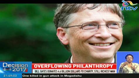 bill gates donates  billion  charity  richest