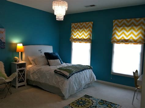 Peacock Blue Bedroom by Peacock Blue Room