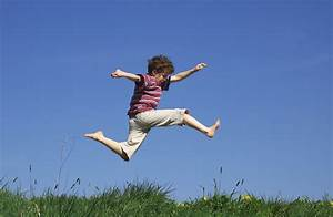 Jump of a Child on a Lawn #4241706, 2936x1920 | All For ...