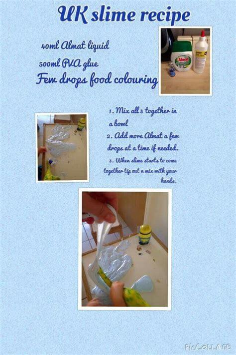 slime almat  aldi slime recipe slime recipes uk slime