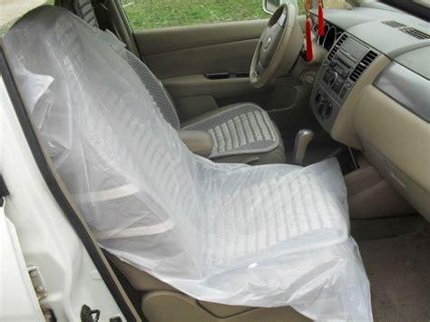 auto r 233 paration jetable en plastique de voiture housse de si 232 ge en rouleaux capot de selle id de