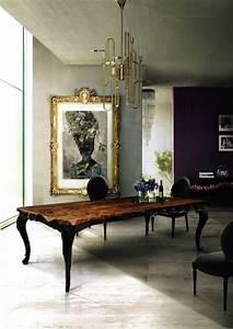 Esszimmer Gestalten Wände : wohnzimmer barock einrichten raum und m beldesign ~ Lizthompson.info Haus und Dekorationen