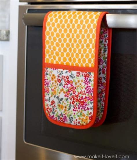 sewing kitchen accessories pot holder with pockets tutorial allfreesewing 2164
