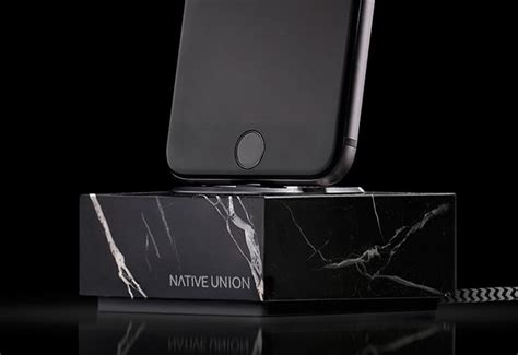 2387 union iphone dock union marble ios charging dock launches for 130