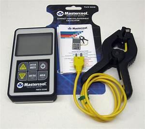 Ac Superheat Chart 52246 Mastercool Superheat Subcool Calculator Digital A C